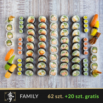 Zestaw Family (82 szt.)